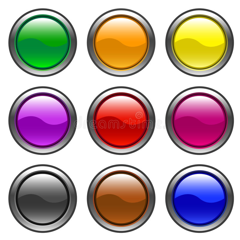 Free Web Buttons Royalty Free Stock Images - 4338299