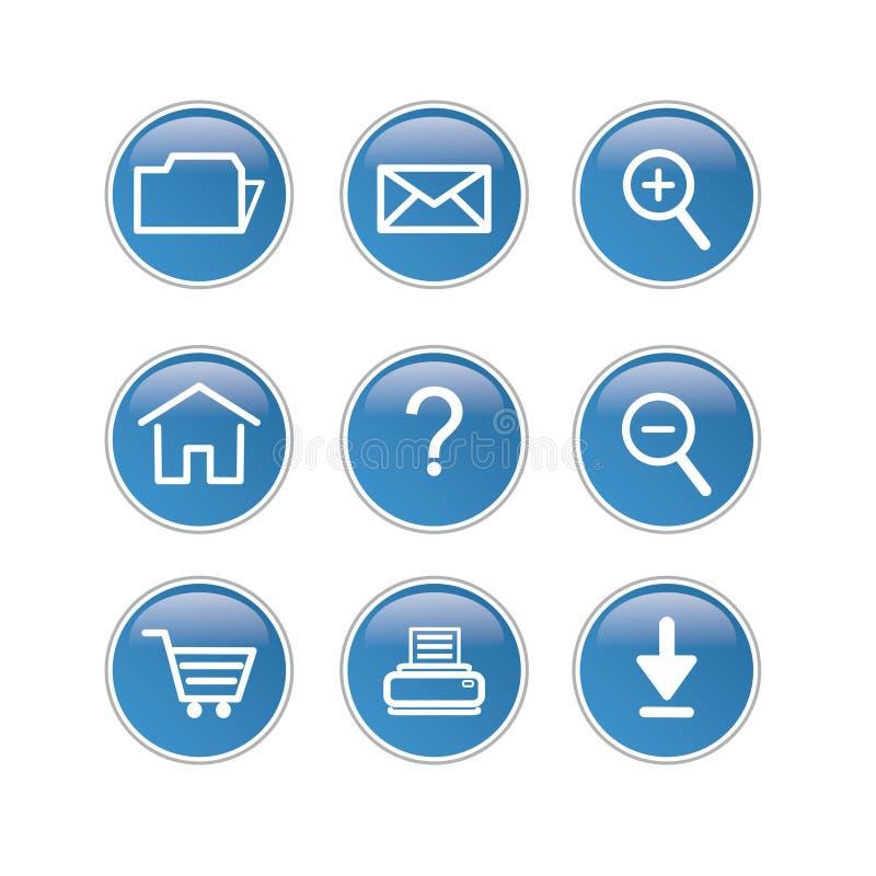 Web icon stock illustration