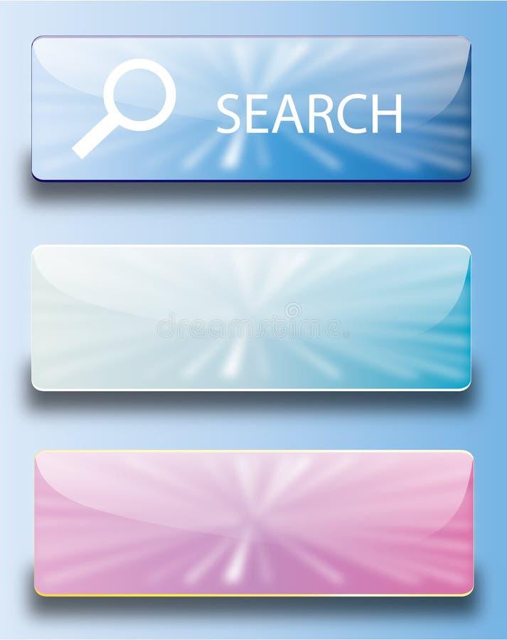 Web buttons search stock photos