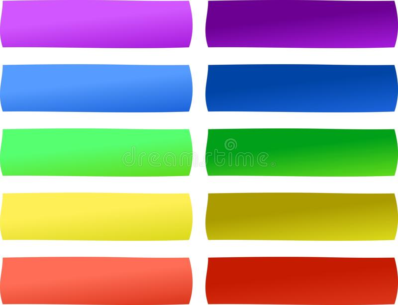 The Web Buttons royalty free stock photography