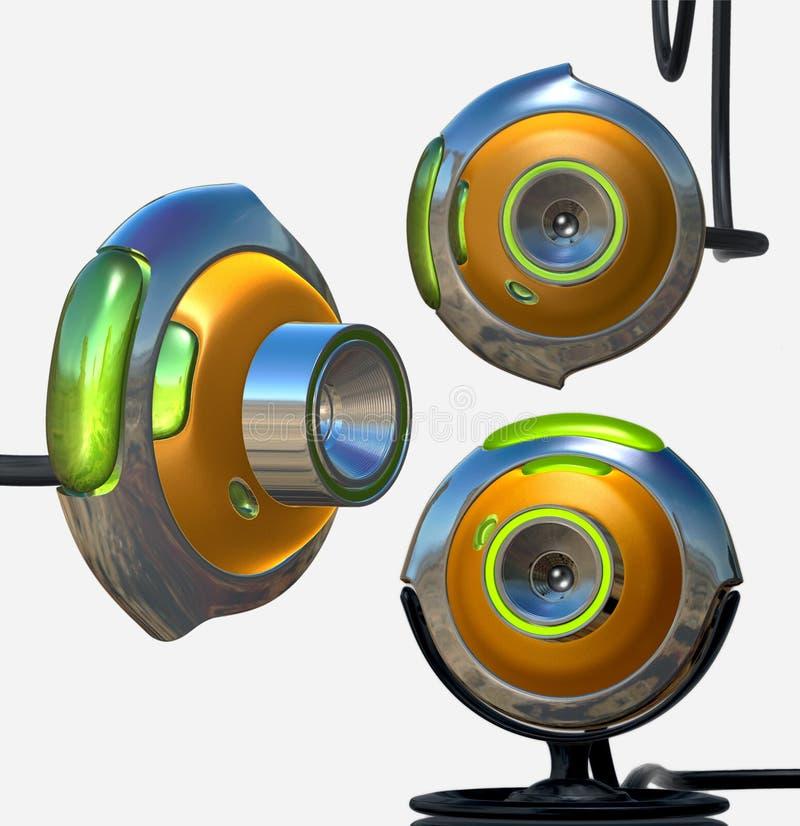 Toy Webcam Toy : Web cam toy stock illustration of digital