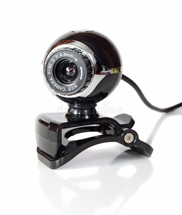 Web camera stock image