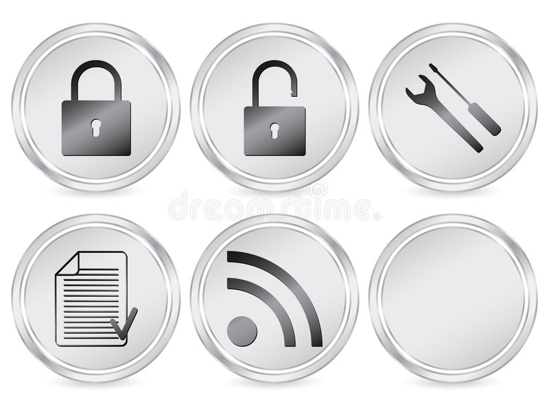 Download Web circle icon 3 editorial photography. Illustration of internet - 5703772