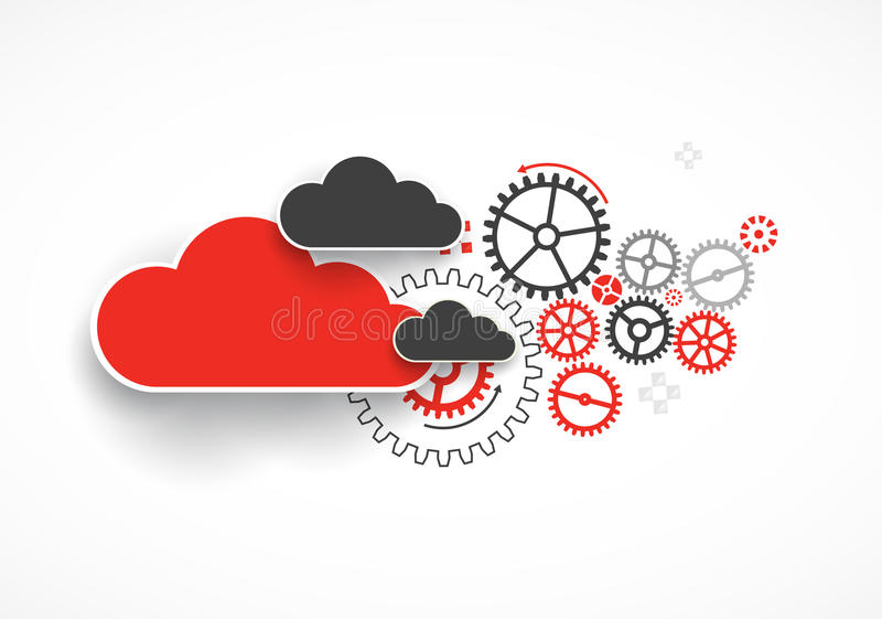 Web cloud technology bussines abstract background. Vector