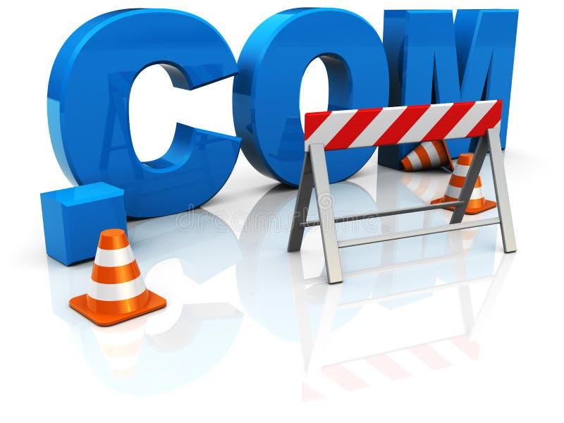 Web construction stock photography