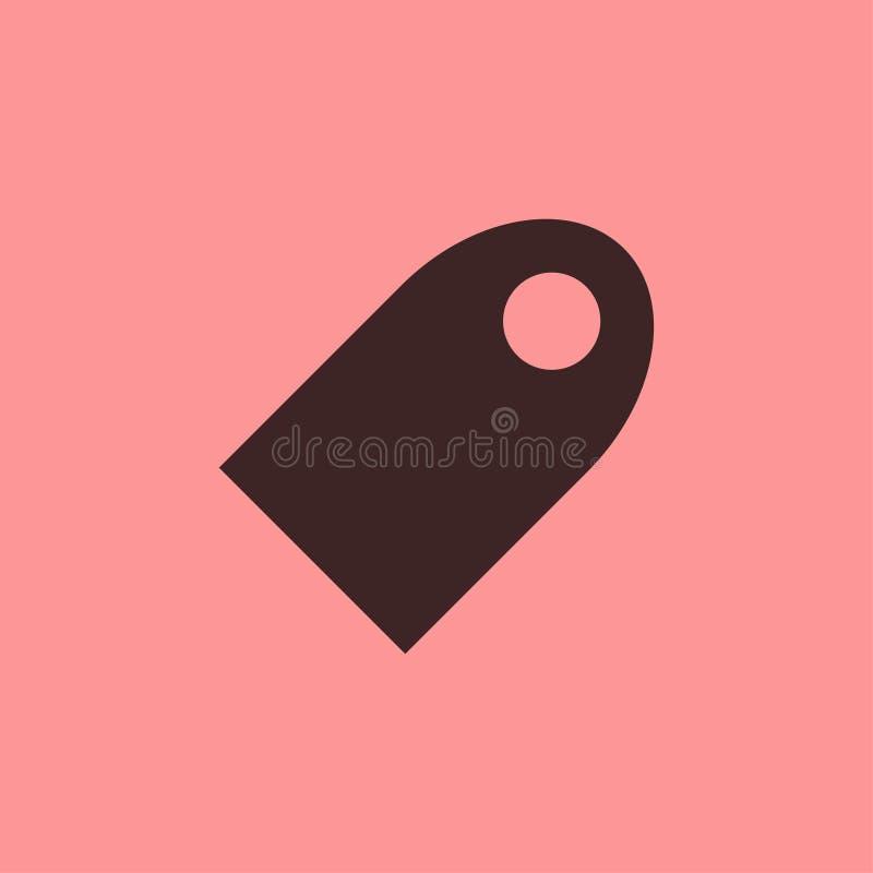 Web da etiqueta para a linha do preto do ícone da venda foto de stock royalty free