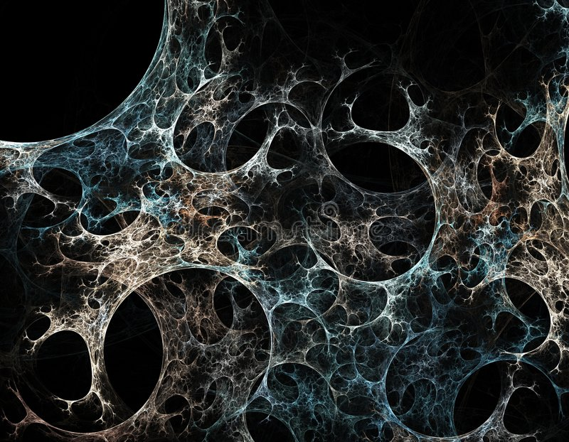 Web de araña abstracto stock de ilustración