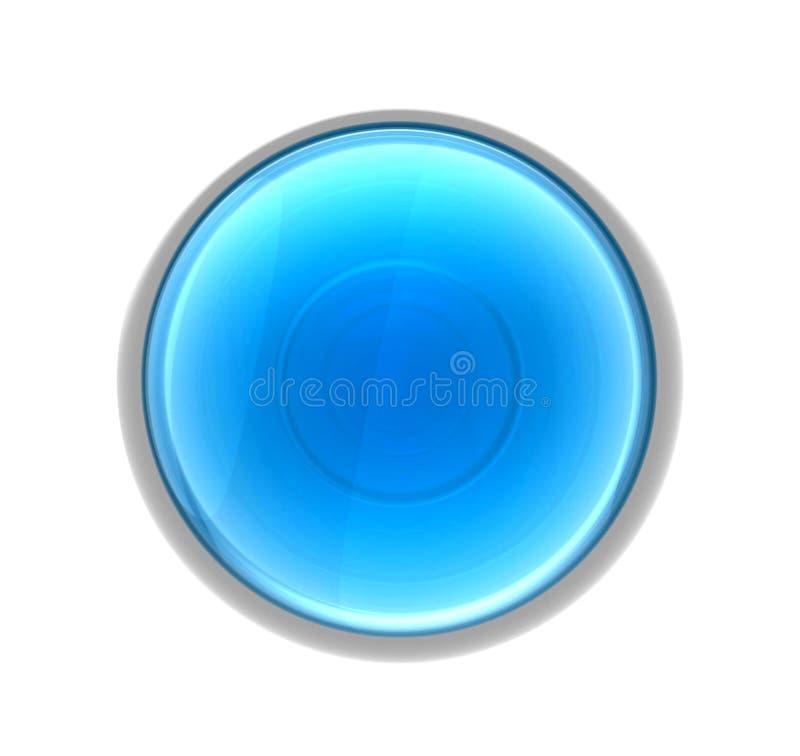 Web de bouton d'aqua illustration libre de droits