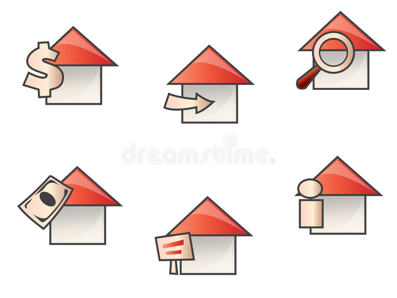 Web de Chambre illustration de vecteur