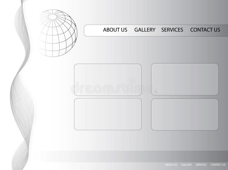 Web de descripteur illustration libre de droits