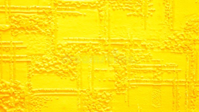 Web de papel amarillo con relieve imagen de archivo libre de regalías