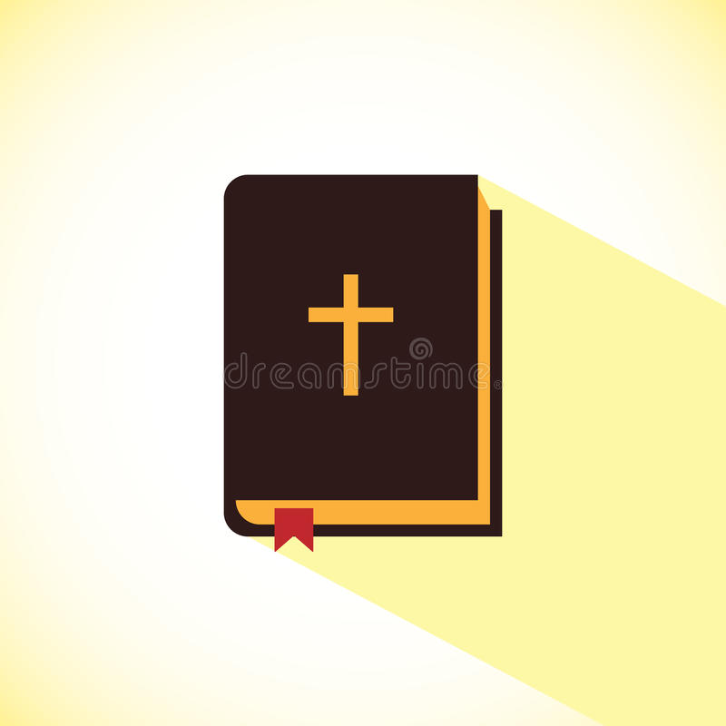 Web del icono de la biblia libre illustration