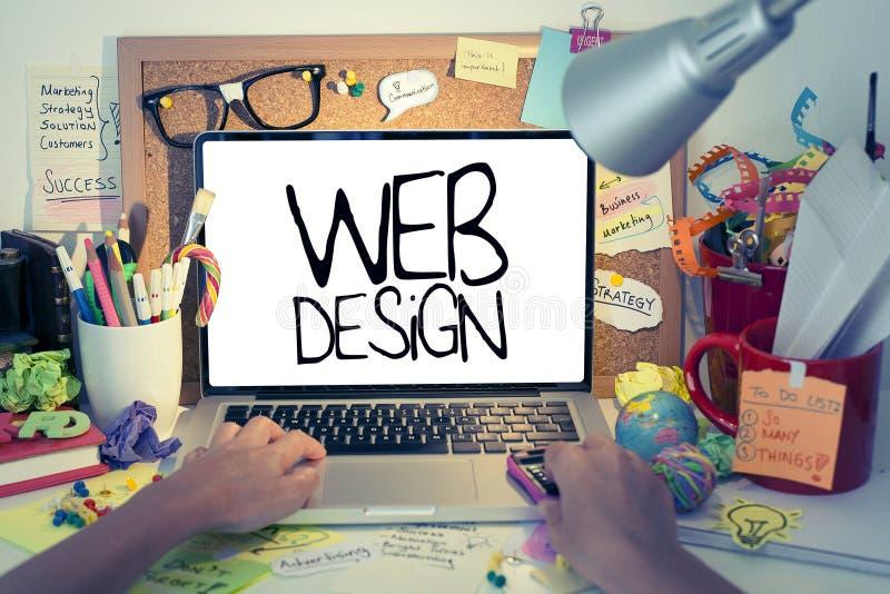 Web design fotografia stock libera da diritti