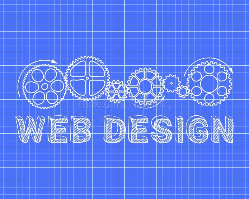 Web design blueprint stock vector illustration of industrial download web design blueprint stock vector illustration of industrial 85759237 malvernweather Gallery