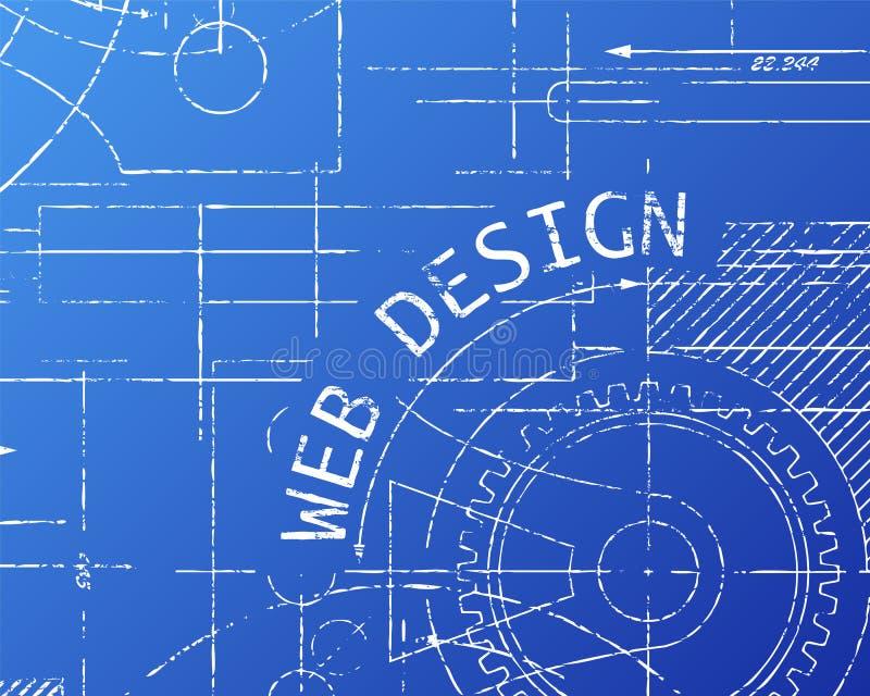 Web design blueprint machine stock vector illustration of download web design blueprint machine stock vector illustration of blueprint machine 85337818 malvernweather Gallery