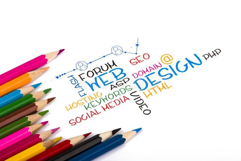 Web design stock image