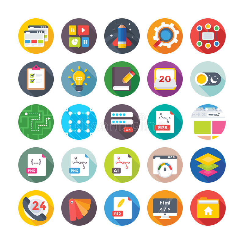 Web Design and Development Vector Icons 15. Here is a useful and trendy Web Design and Development icons pack. Hope you can find a great use for them in your stock illustration