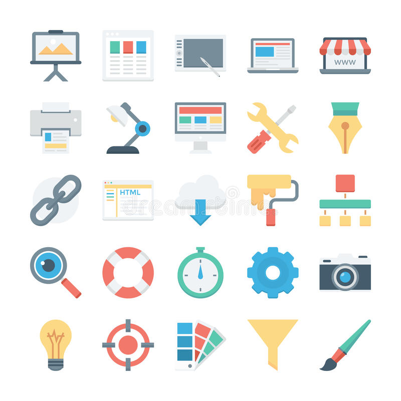 Web Design and Development Vector Icons 1. Whether you're building a new website, a new app, or a dashboard, you can't do without great icons. You' vector illustration