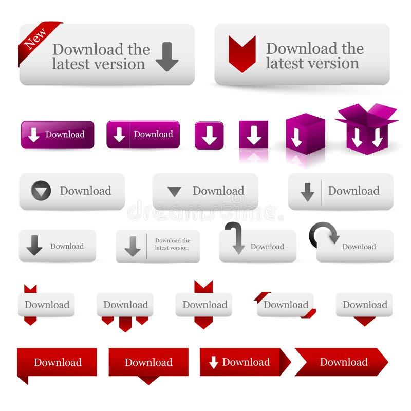 Download Web design elements stock vector. Illustration of illustration - 18296415