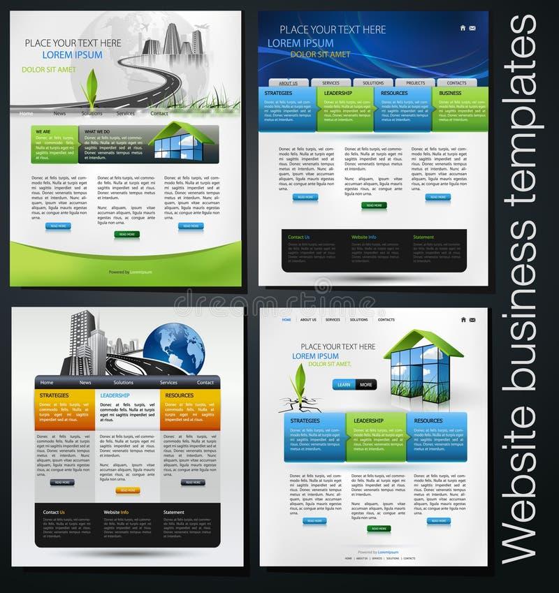 Download Web design set stock vector. Image of layout, building - 26720203