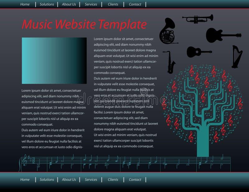 Web Design Template vector illustration