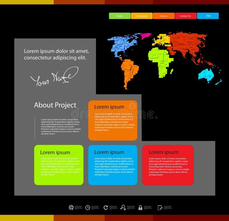 Web design template wi
