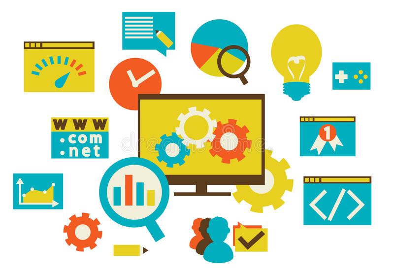 Download Web development stock vector. Image of digital, designer - 36917886