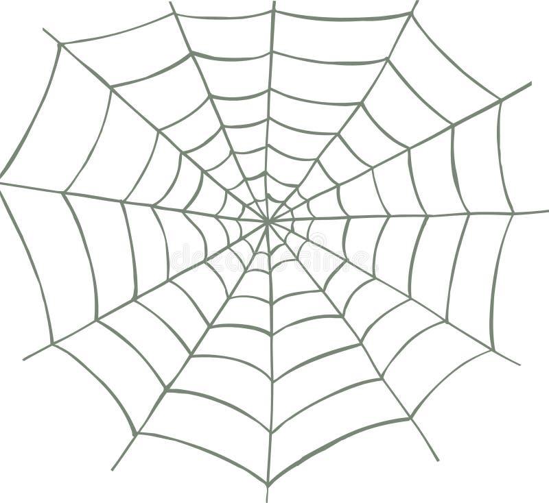 Web di ragno illustrazione di stock
