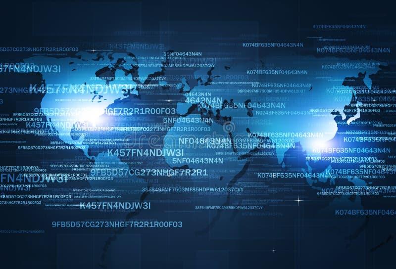 Web Digital Coding stock photo