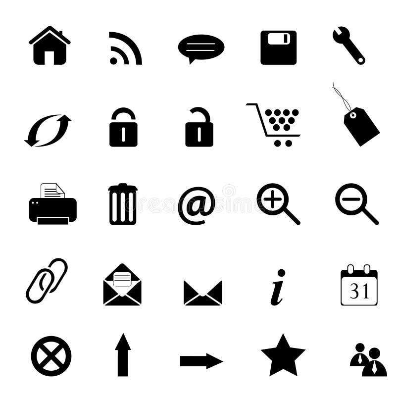 Download Web, E-commerce, E-business Icons Stock Photo - Image: 15506310