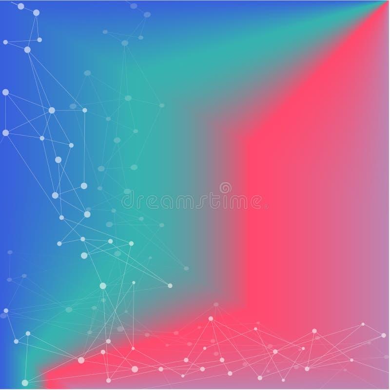 web El modelo abstracto del fondo del vector, los tri?ngulos modernos adorna ilustración del vector