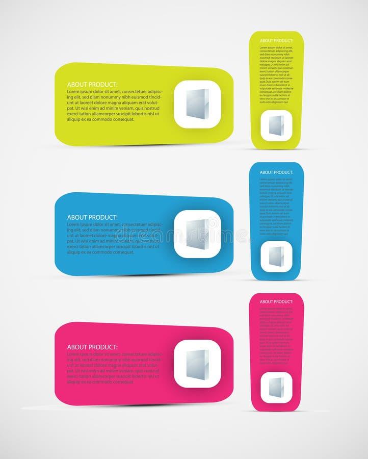 Web-Element. lizenzfreie abbildung