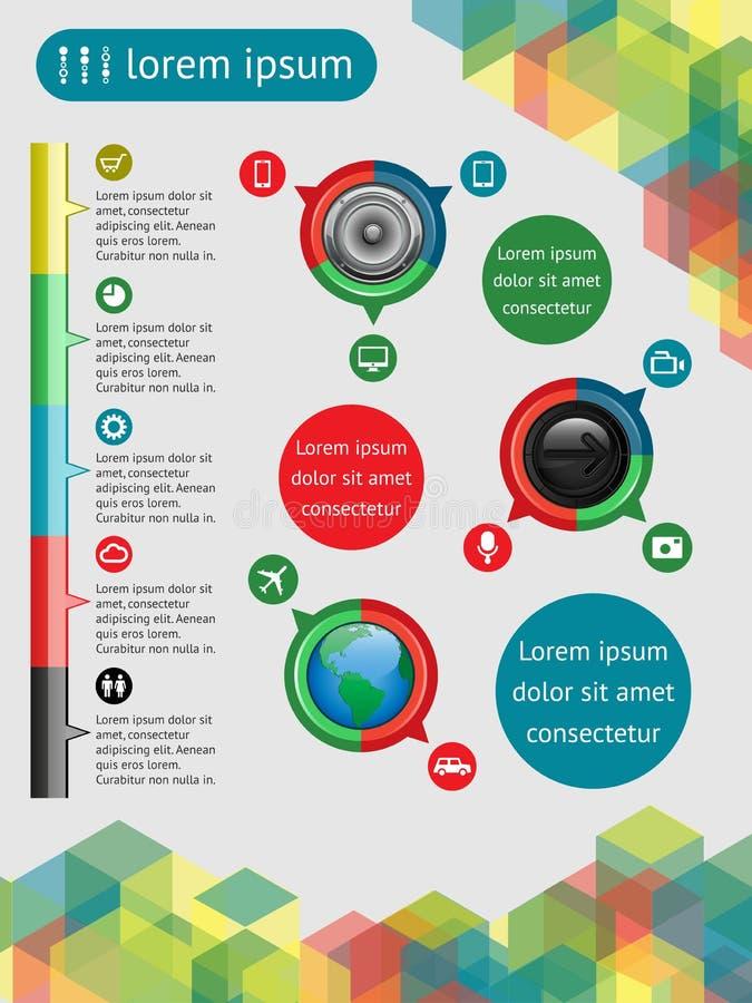 Web-Elemente Lizenzfreie Stockfotografie