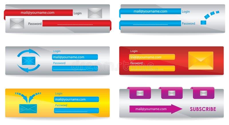 Download Web elements stock illustration. Image of document, creative - 17418966