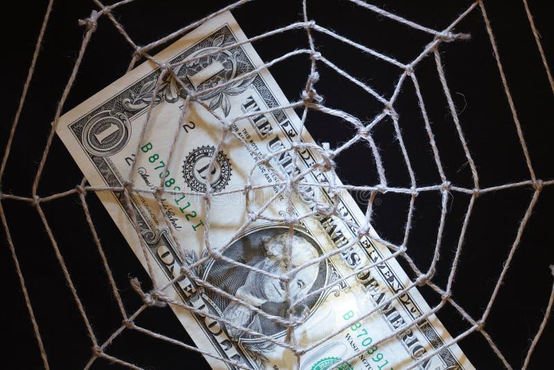 Web financier image libre de droits