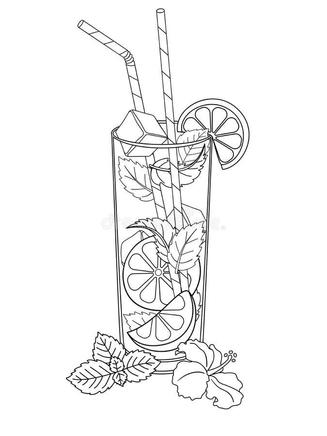 Drinking Lemonade Stock Illustrations – 641 Drinking