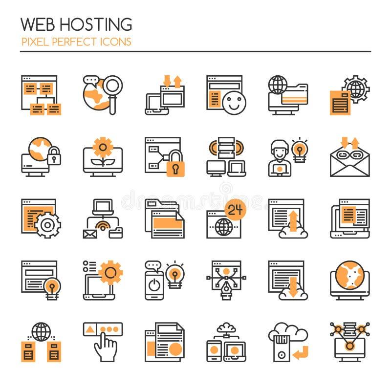 Web het ontvangen royalty-vrije illustratie