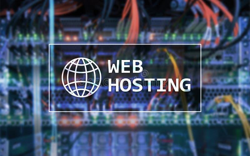 Web het Ontvangen, verlenend bergruimte en toegang voor websites stock fotografie