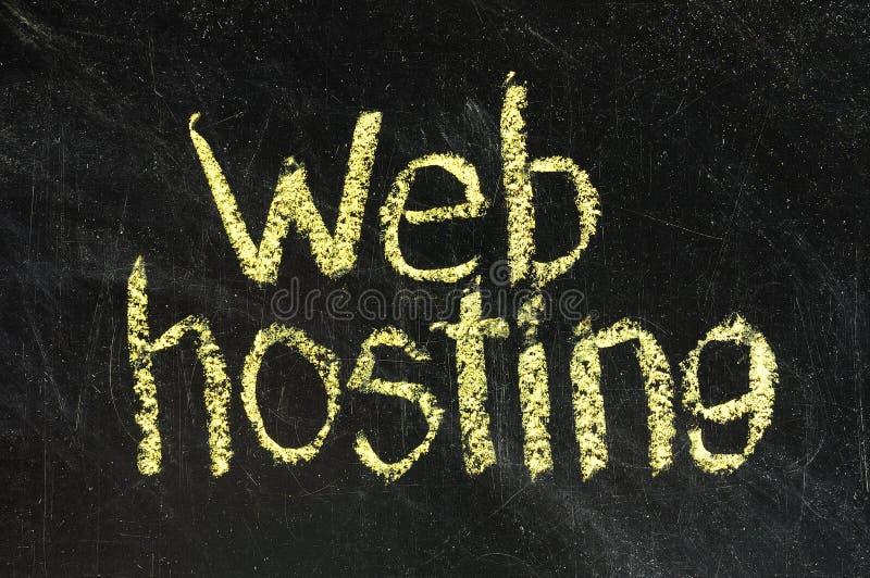 WEB Hosting Stock Image