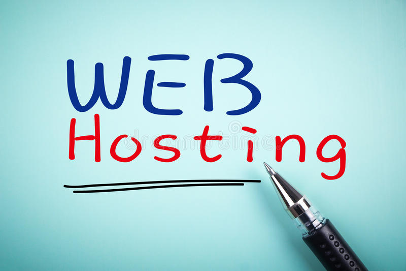 Web hosting royalty free stock photos