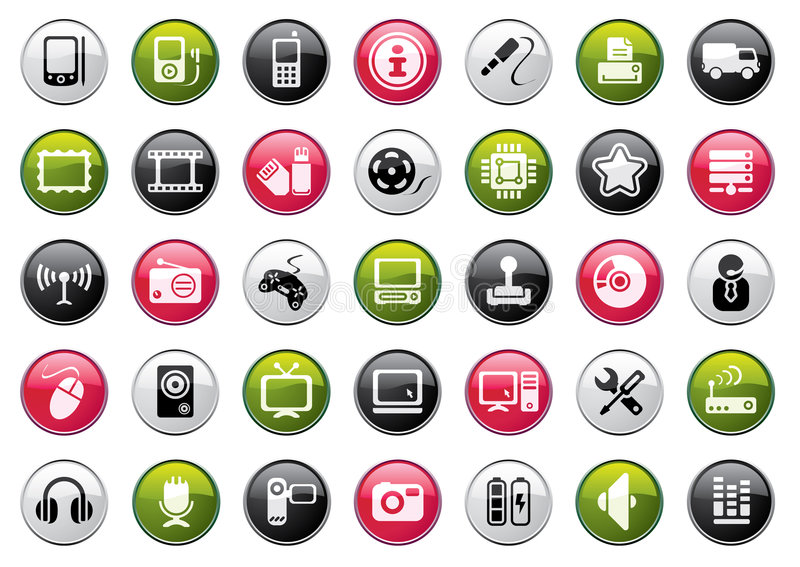 Web Icon Collection vector illustration