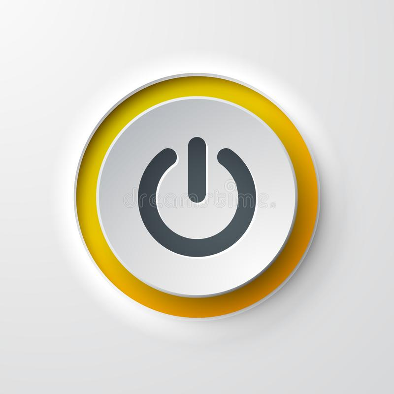 Free Web Icon Push-button Power Stock Images - 110802054