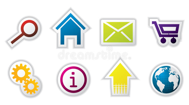 Download Web Icon Set Stock Images - Image: 14722484