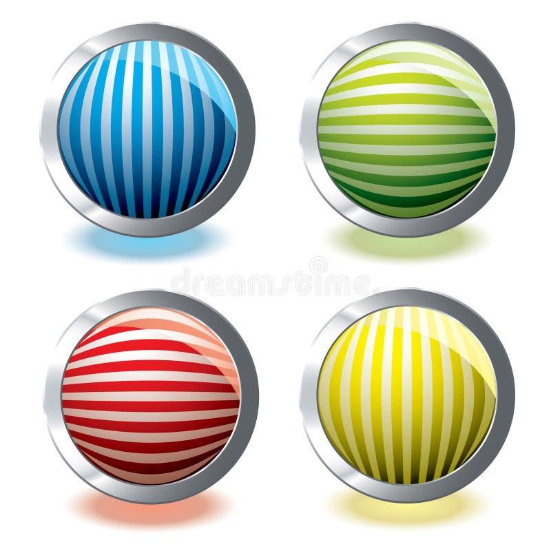 Web icon stripe vector illustration