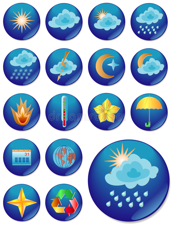 The Web Icon. Vector Image. Royalty Free Stock Image