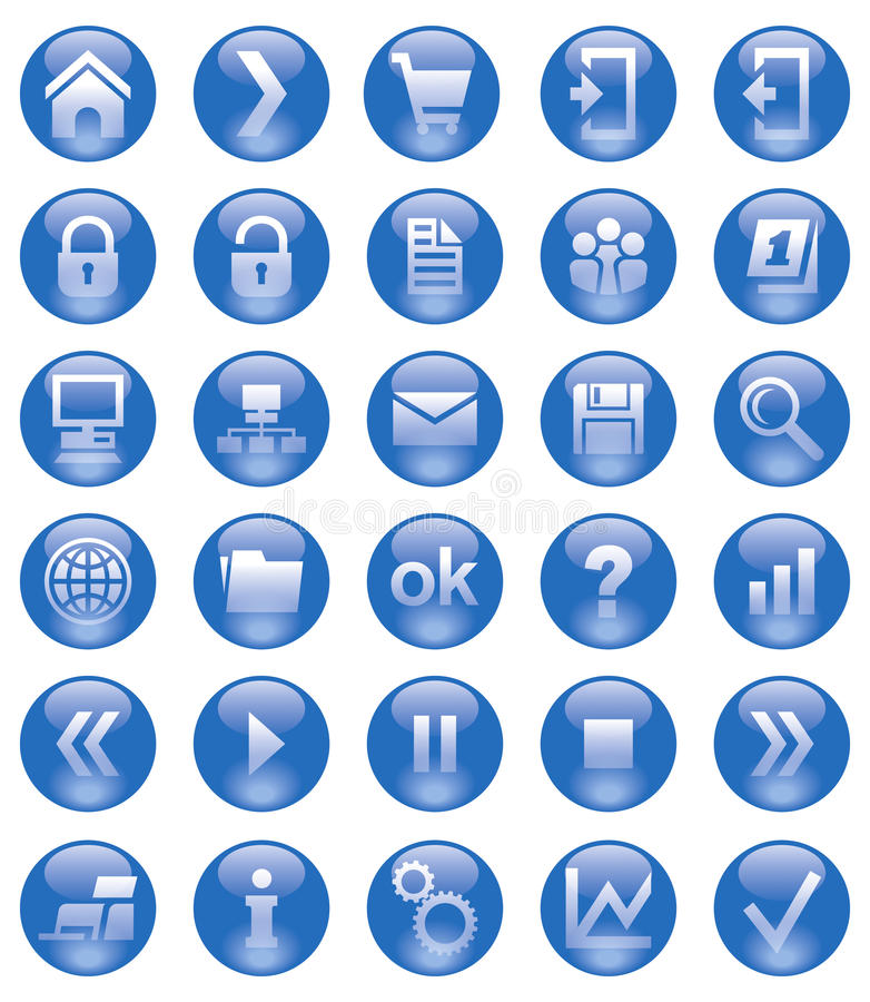 Web icons. Vector illustration for best use