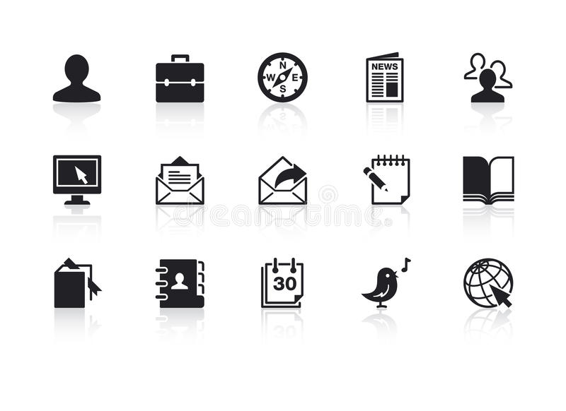 Web Icons 2 royalty free illustration