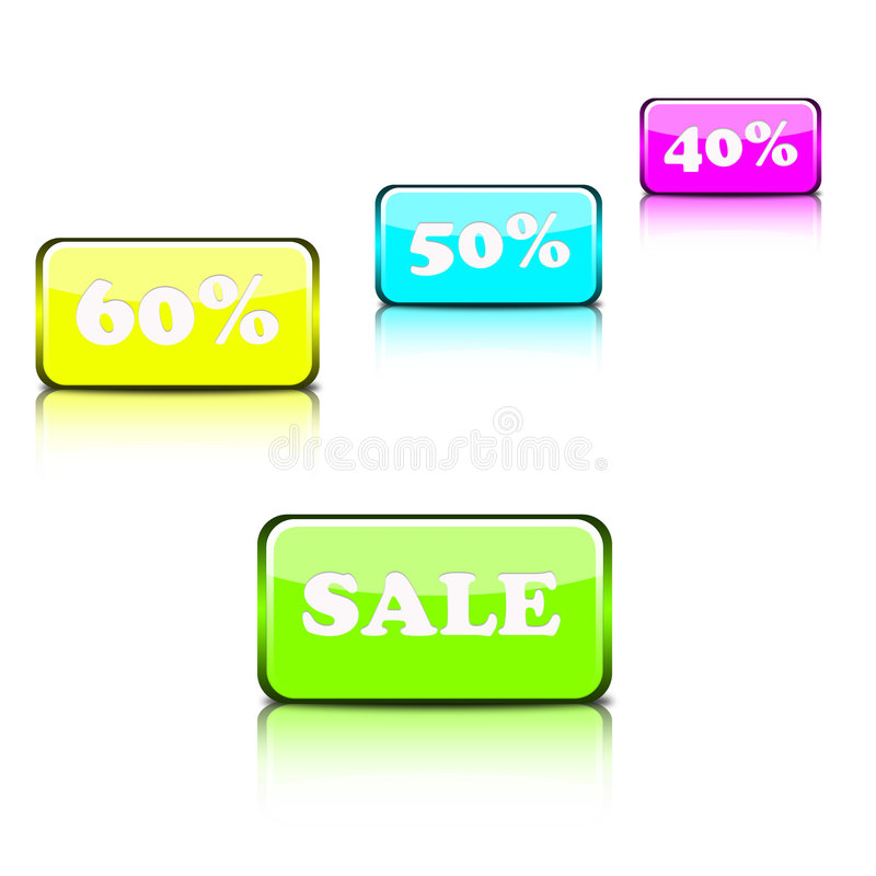 Web icons collection royalty free stock photo
