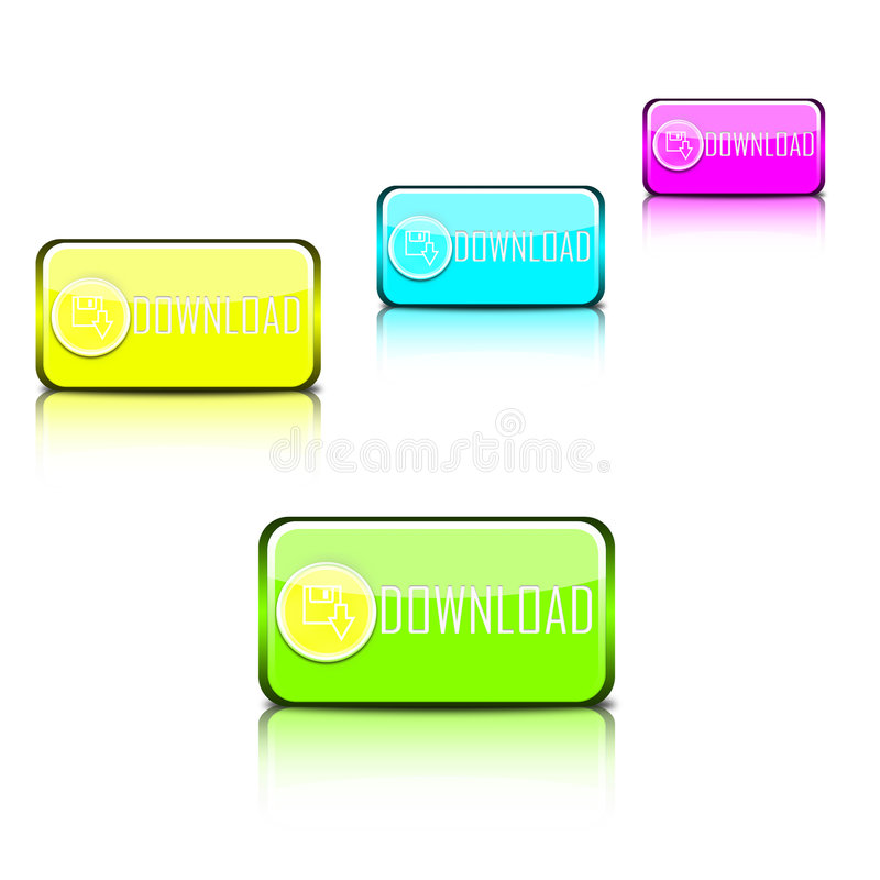 Web icons collection stock photo
