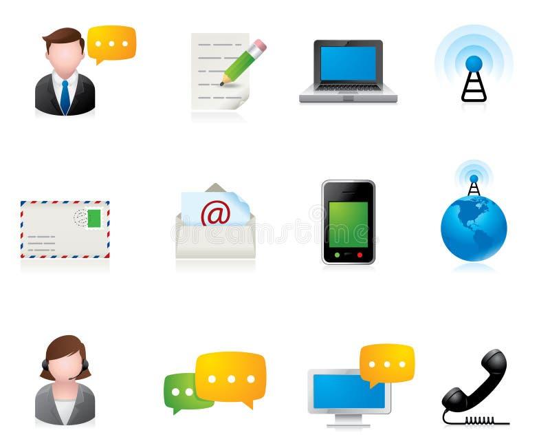 Web Icons - Communication Royalty Free Stock Images